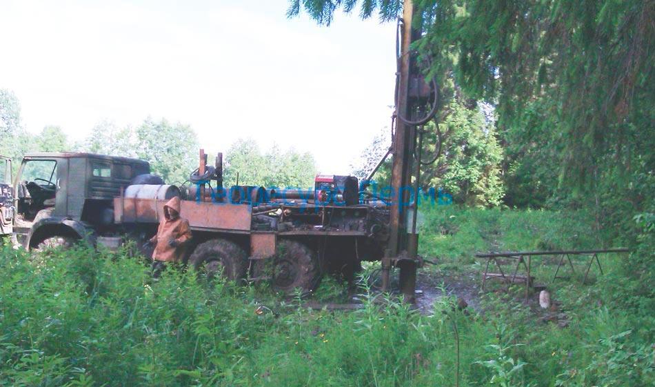 бурение артезианских скважин на воду в Перми и Пермском крае